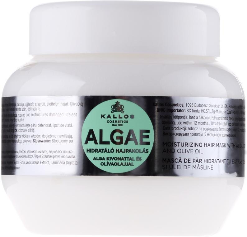 Mască pentru păr, cu extras de alge și ulei de măsline - Kallos Cosmetics Algae Mask
