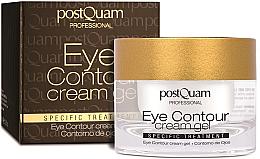 Parfumuri și produse cosmetice Cremă pentru pleoape - PostQuam Eye Contour Cream Gel