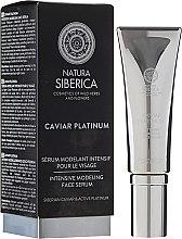Ser intensiv cu efect anti-rid - Natura Siberica Caviar Platinum — Imagine N1