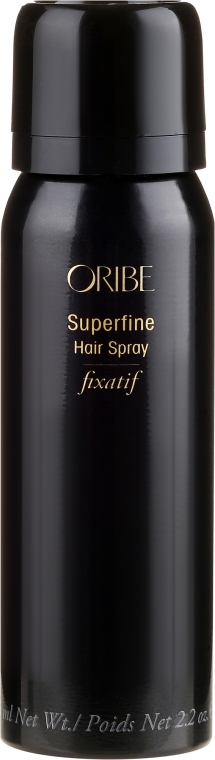 Lac de păr, fixare medie - Oribe Superfine Hair Spray (mini) — Imagine N1