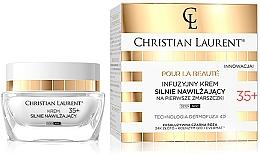 Parfumuri și produse cosmetice Cremă hidratantă împotriva primelor riduri - Christian Laurent Infusion Intensely Moisturizing Cream Against First Wrinkles 35 +