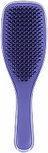 Perie de păr - Tangle Teezer The Wet Detangler Damson Purple Pick n Sick — Imagine N4