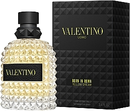 Parfumuri și produse cosmetice Valentino Born In Roma Uomo Yellow Dream - Apă de toaletă