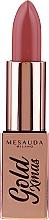 Parfumuri și produse cosmetice Ruj de buze - Mesauda Milano Gold Xmas Lipstick