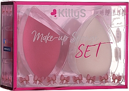 Parfumuri și produse cosmetice Set bureți de machiaj, 2 buc - KillyS