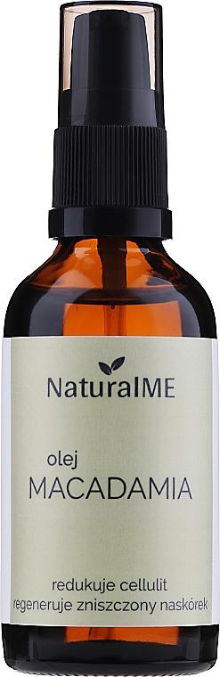 Ulei de macadamia - NaturalME (cu dozator) — Imagine N1