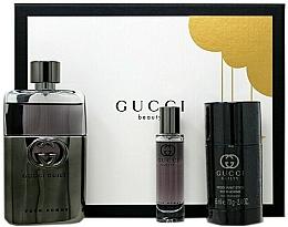 Parfumuri și produse cosmetice Gucci Guilty Pour Homme - Set (edt/90ml + deo/75ml + edt/15ml)