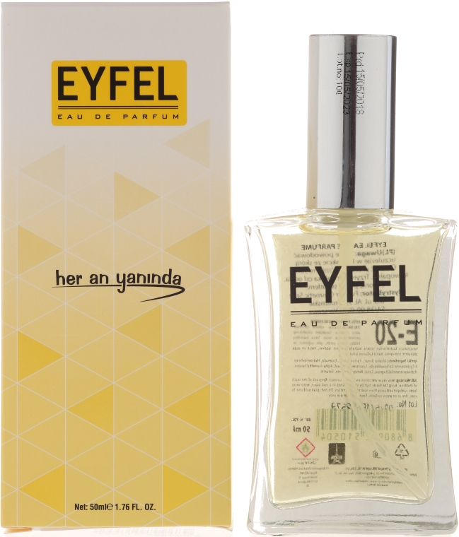 Eyfel Perfume E-20 - Apă de parfum — Imagine N1