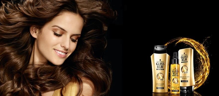 "Spray de păr ""Ultimate oil elixir"" - Schwarzkopf Gliss Kur Ultimate Oil Elixir Serum — Imagine N3"