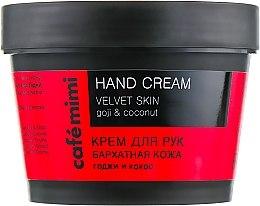 Parfumuri și produse cosmetice Cremă de mâini - Cafe Mimi Hand Cream Velvet Skin
