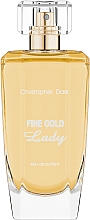 Parfumuri și produse cosmetice Christopher Dark Fine Gold Lady - Apă de parfum