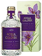 Parfumuri și produse cosmetice Maurer & Wirtz 4711 Acqua Colonia Saffron & Iris - Apă de colonie