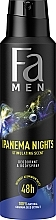 "Parfumuri și produse cosmetice Deodorant-Spray pentru bărbați ""Ipanema Nights"" - Fa Men"