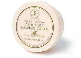 "Parfumuri și produse cosmetice Cremă de ras ""Aloe vera"" - Taylor of Old Bond Street Aloe Vera Shaving Cream Bowl"