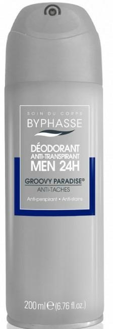 Deodorant - Byphasse Men 24h Anti-Perspirant Deodorant Groovy Paradise Spray — Imagine N1