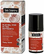 Parfumuri și produse cosmetice Gel cu ulei de roșii și boabe de goji pentru față - Bio Happy Face Gel Oiltomato And Goji Berry
