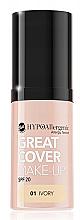 Parfumuri și produse cosmetice Fond de ten, hipoalergenic - Bell Hypoallergenic Great Cover Make-up Spf 20