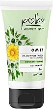 Parfumuri și produse cosmetice Gel de curățare cu extract de ovăz - Polka Face Cleansing Gel