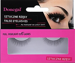 Parfumuri și produse cosmetice Gene false, 4456 - Donegal Full Highlight Eye Lashes
