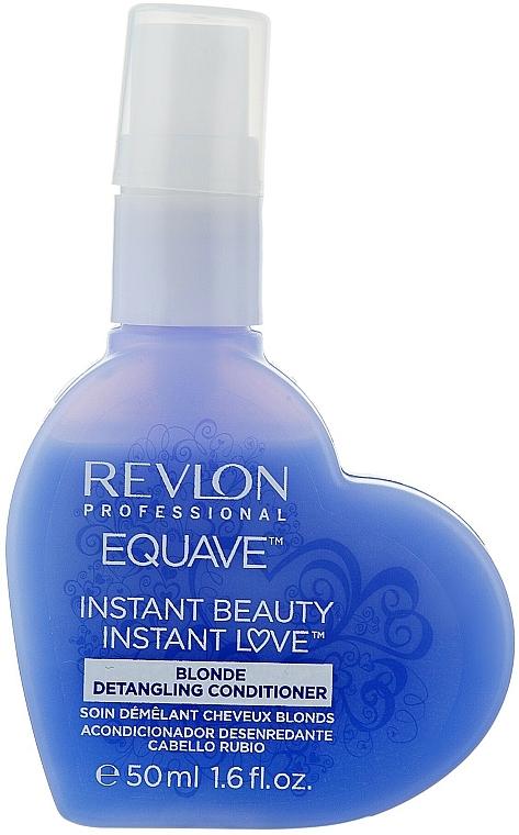 Balsam pentru părul blond cu keratină - Revlon Professional Equave 2 Phase Blonde Detangling Conditioner — Imagine N5