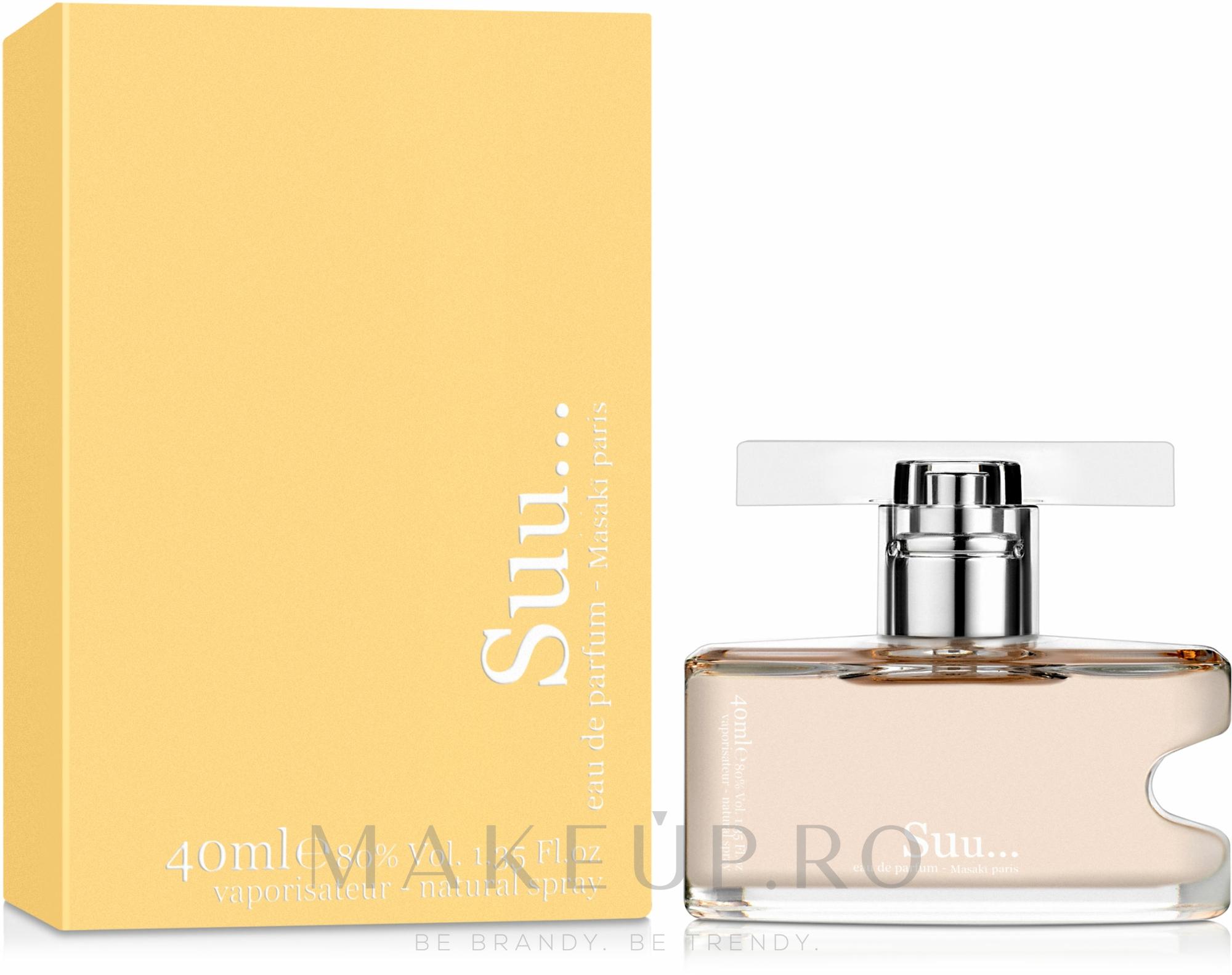 Masaki Matsushima Suu… - Apă de parfum — Imagine 40 ml