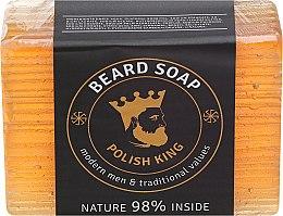 Parfumuri și produse cosmetice Săpun pentru barbă - Polish King Beard Soap