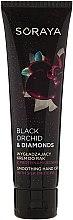 Parfumuri și produse cosmetice Cremă cu proteine din mătase pentru mâini - Soraya Black Orchid & Diamonds Smoothing Hand Cream