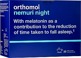 Parfumuri și produse cosmetice Vitamine granule (30 zile) - Orthomol Nemuri