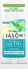 """Parfumuri și produse cosmetice Deodorant stick """"Arbore de ceai"""" - Jason Natural Cosmetics Pure Natural Deodorant Stick Tea Tree"""