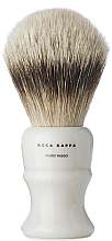 Parfumuri și produse cosmetice Pămătuf de ras - Acca Kappa Shaving Brush Pure Silver Badger