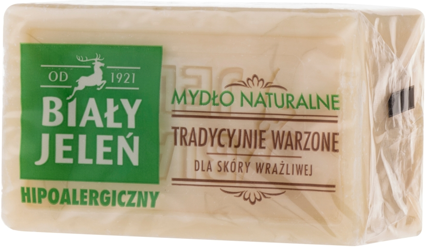 Săpun natural hipoalergenic - Bialy Jelen Hypoallergenic Natural Soap  — Imagine N2