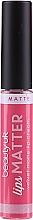 Parfumuri și produse cosmetice Ruj de buze - Beauty UK Lips Matter Matte Lip Cream (4 -Shake your Plum)