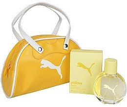 Parfumuri și produse cosmetice Puma Yellow Woman - Set (edt 40ml + bag)