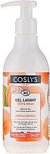 Parfumuri și produse cosmetice Gel de baie, pentru copii - Coslys Baby Care Baby Cleansing Gel-Hair & BodyWith Organic Apricot