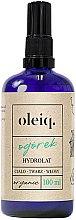Parfumuri și produse cosmetice Hidrolat de Castraveți pentru față, corp și păr - Oleiq Cucumber Hydrolat