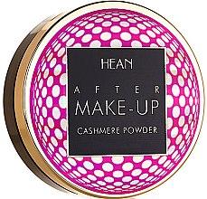 Parfumuri și produse cosmetice Pudră de față - Hean After Makeup-up Cashmere Compact Powder