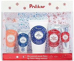 Parfumuri și produse cosmetice Set - Polaar Polaar Christmas 2020 My Beauty Essentials Gift Set (f/cr/25ml + f/cr/15ml + b/milk/50ml + h/cr/25ml + lip/balm/10ml)