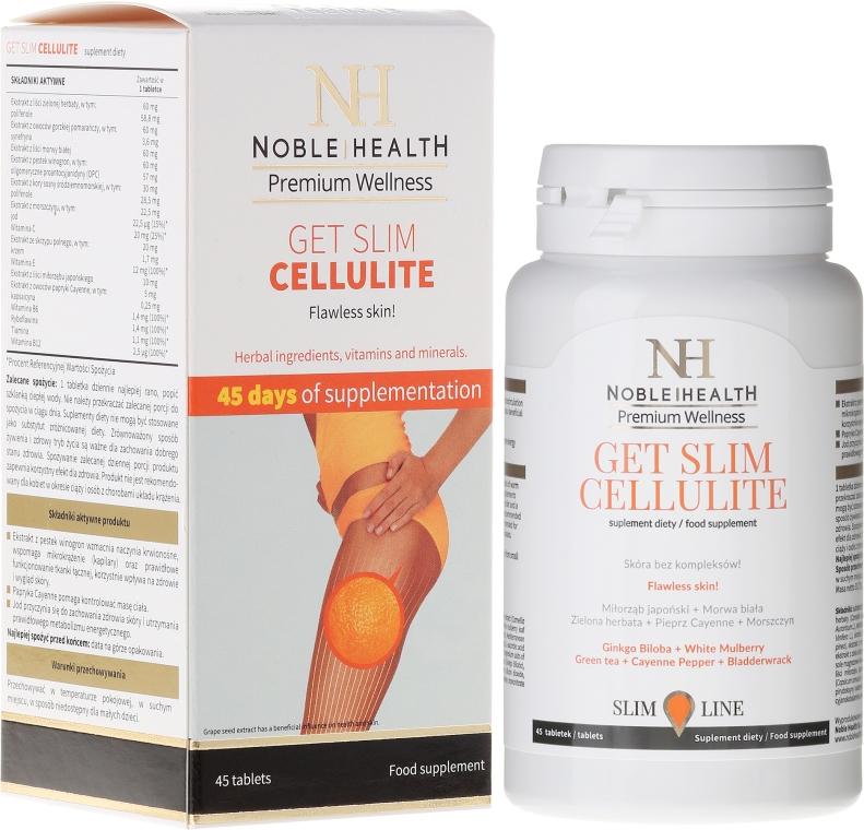 Suplimente împotriva celulitei - Noble Health Get Slim Cellulite