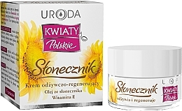 Parfumuri și produse cosmetice Cremă hidratantă pentru faţă - Uroda Kwiaty Polskie Stonecznik Cream