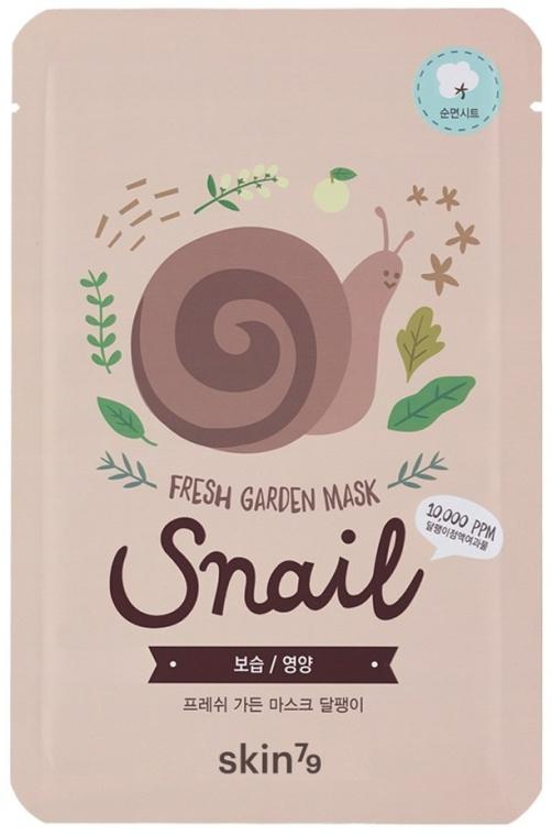 Masca folie de față - Skin79 Fresh Garden Mask Snail