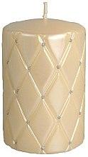 Parfumuri și produse cosmetice Lumânare decorativă, 10 cm, bej - Artman Florence Candle