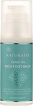Parfumuri și produse cosmetice Balsam pentru picioare - Naturativ Home Spa Rich Foot Balm