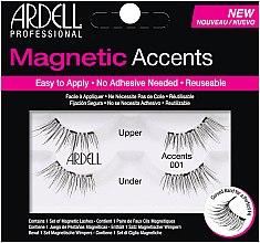 Parfumuri și produse cosmetice Gene false - Ardell Magnetic Lashes Accents 001