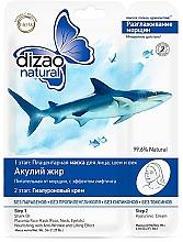 """Parfumuri și produse cosmetice Mască în două etape """"Ulei de rechin"""" - Dizao"""