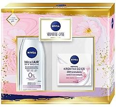 Parfumuri și produse cosmetice Set - Nivea Sensitive Care (mic/water/200ml + f/cr/50ml)