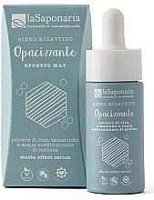 Parfumuri și produse cosmetice Ser bioactiv mat pentru față - La Saponaria Matte Effect Serum
