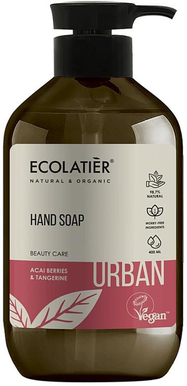 """Săpun lichid """"Acai și Tangerin"""" - Ecolatier Urban Liquid Soap"""
