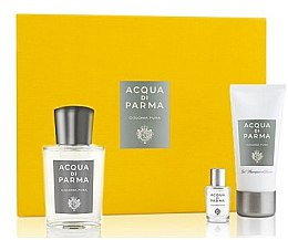 Parfumuri și produse cosmetice Acqua Di Parma Colonia Pura - Set (edc/100ml + edc/5ml + sh/gel/50ml)