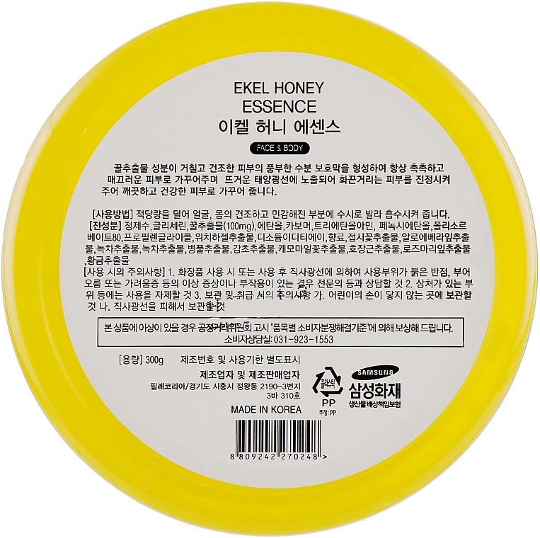 Gel pentru față și corp - Ekel Honey Essence — Imagine N3