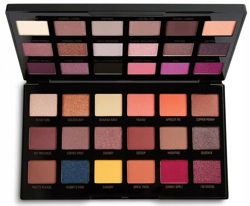 Farduri de ochi - Makeup Revolution X Petra 36 Shade Eyeshadow Palette — Imagine N2